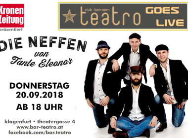 Teatro goes Live – Die Neffen von Tante Eleonor