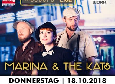 TGL – Marina and the Kats am 18.10.2018