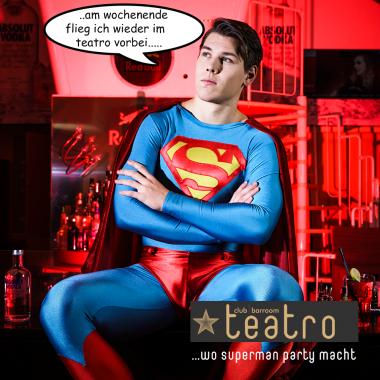 Wo Superhelden Party machen