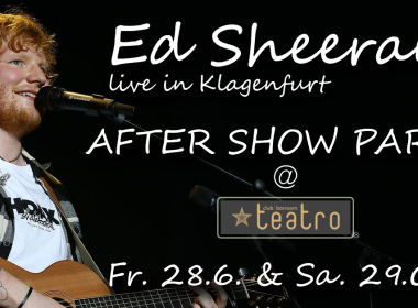 Ed Sheeran After Show Party im Teatro