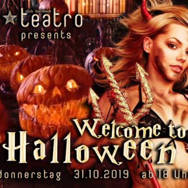Teatro presents Welcome to Halloween