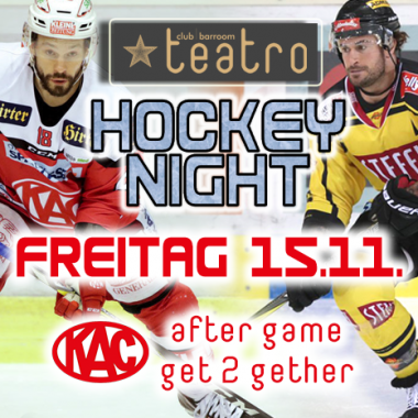 Teatro´s Hockey Night – after game get2gether