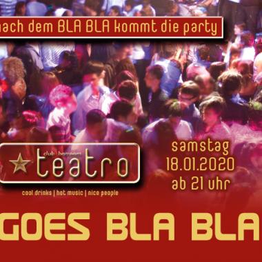 Teatro goes Bla Bla