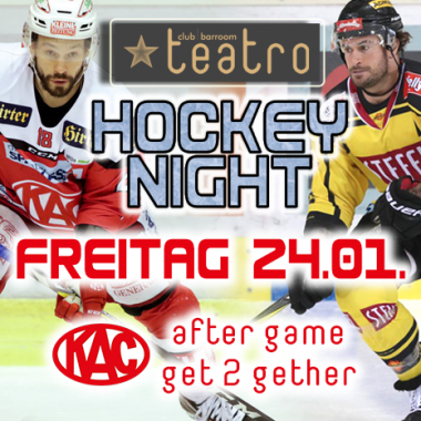 Teatro´s Hockey Night – after game get 2 gether
