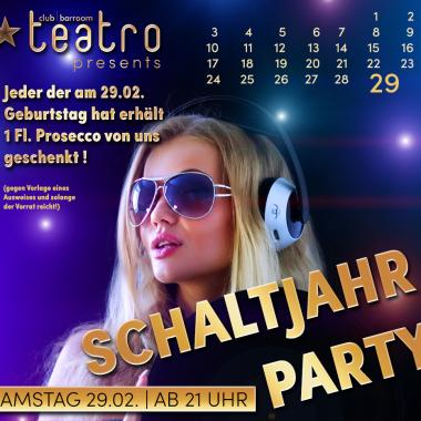 Schaltjahr-Party