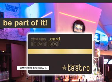 Teatro Membership Card